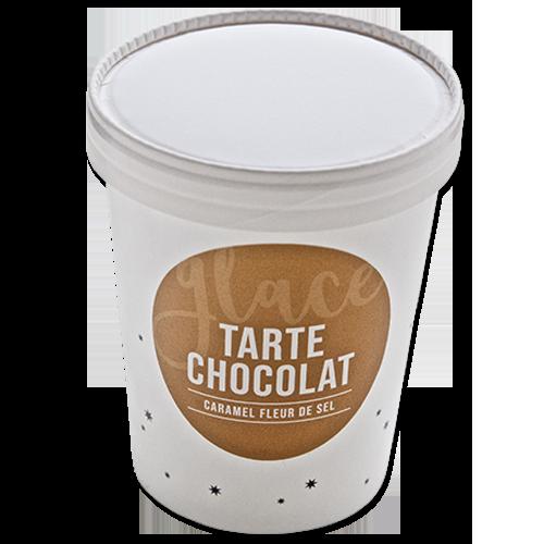 Glace Tarte Chocolat Caramel Fleur De Sel Christophe Michalak