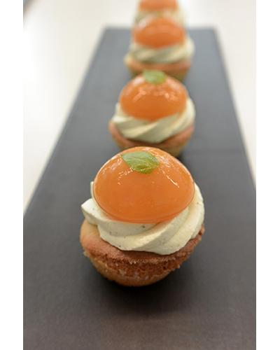 Mini tartelette abricot