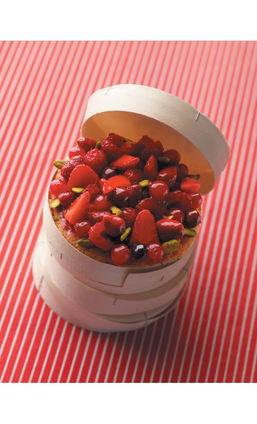 cours autour des fruits rouges