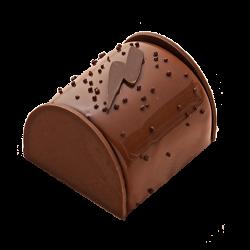 Bûchette Chocolat Lait Caramel