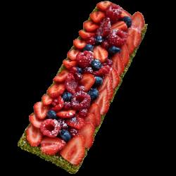 Tarte Feuilletée Fruits Rouges (7-8 personnes)