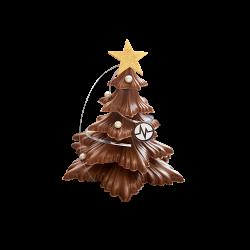 Sapin De Noël Chocolat Lait