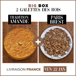 BIG BOX 2 GALETTES - TRADITION AMANDE + PARIS-BREST