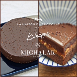 Gâteau de Voyage pour LA MAISON DU CHOCOLAT (LIVRAISON FRANCE VEN 16 AVRIL)Catalogue  Produits