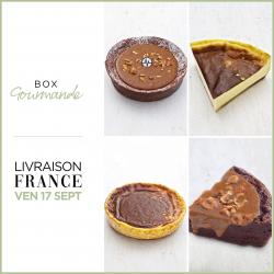 BOX Gourmande (LIVRAISON FRANCE VENDREDI 17 SEPTEMBRE)
